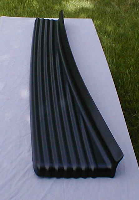 1941 Packard 110 Running Boards rubber mat
