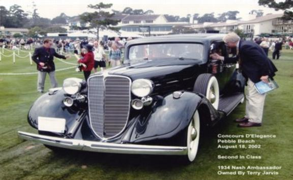 34 Nash Ambassador at Pebble Beach
