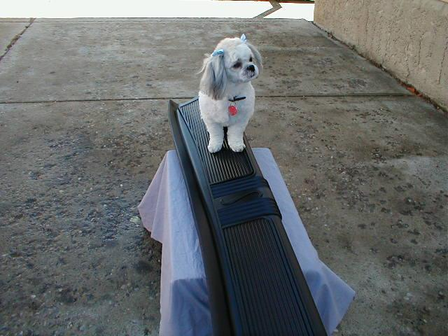 Our Quality Control Inspector Inspecting A 40 Stude Running Board